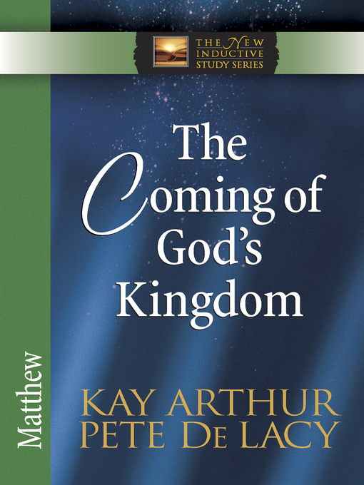 The Coming of God's Kingdom (eBook): Matthew