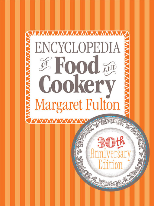 Encyclopedia of Food and Cook (eBook)