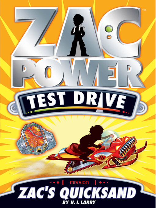 Zac's Quicksand (eBook): Zac Power Test Drive Series, Book 14