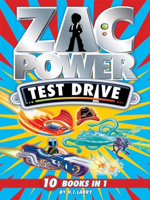 Zac Power Test Drive (eBook): 10 Books in 1