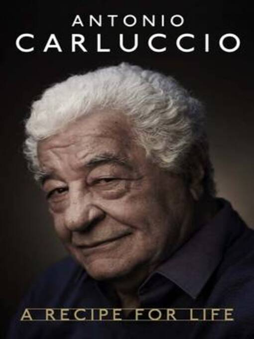 Antonio Carluccio (eBook): A Recipe for Life
