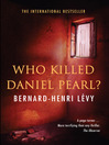 Who Killed Daniel Pearl (eBook)