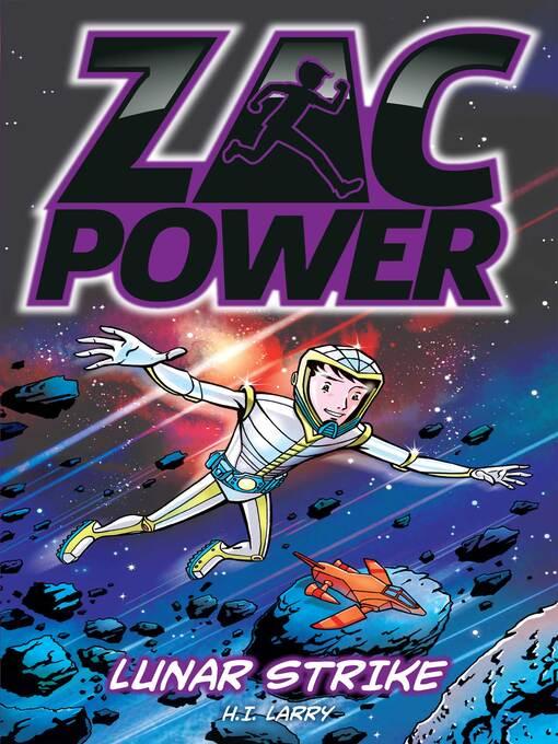 Lunar Strike (eBook): Zac Power Series, Book 7