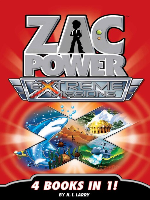 Zac Power Extreme Missions (eBook): Zac Power Extreme Missions: 4 Books In 1