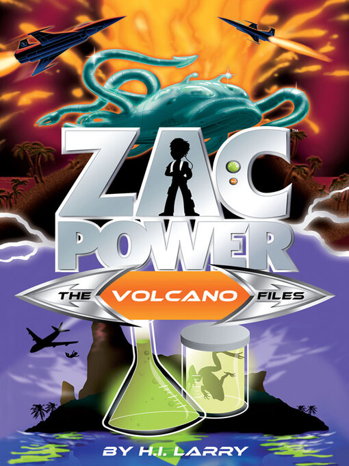 The Volcano Files (eBook): Zac Power Special Files Series, Book 7