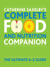 Catherine Saxelby's Food and Nutrition Companion (eBook)