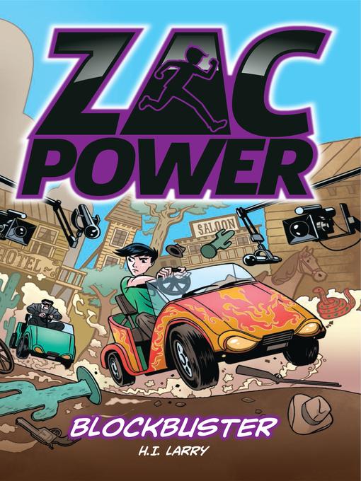 Blockbuster (eBook): Zac Power Series, Book 9