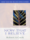 Now That I Believe (eBook)