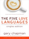 Five Love Languages Singles Edition (eBook)