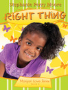 Right Thing (eBook)
