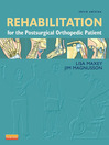 Rehabilitation for the Postsurgical Orthopedic Patient (eBook)