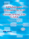 Spanish Terminology for Chiropractic Care (eBook)