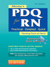 Mosby's PDQ for RN (eBook)
