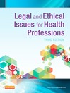 Legal and Ethical Issues in Health Occupations (eBook)