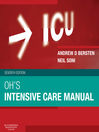 Oh's Intensive Care Manual (eBook): Expert Consult: Online