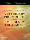 Kirk & Bistner's Handbook of Veterinary Procedures and Emergency Treatment (eBook)