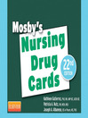 Mosby's Nursing Drug Cards (eBook)