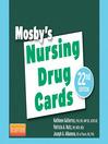 Mosby's Nursing Drug Cards (eBook)
