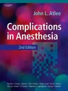 Complications in Anesthesia (eBook)