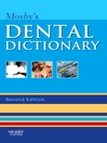 Mosby's Dental Dictionary (eBook)