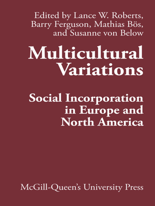 Multicultural Variations (eBook): Social Incorporation in Europe and North America