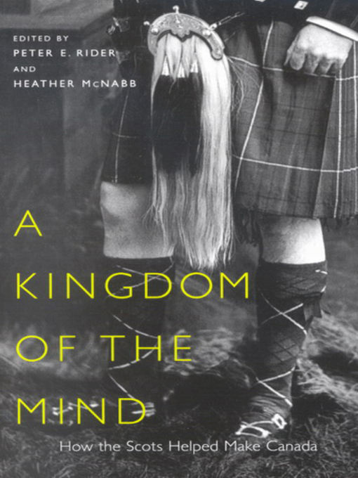 Kingdom of the Mind (eBook): How the Scots Helped Make Canada