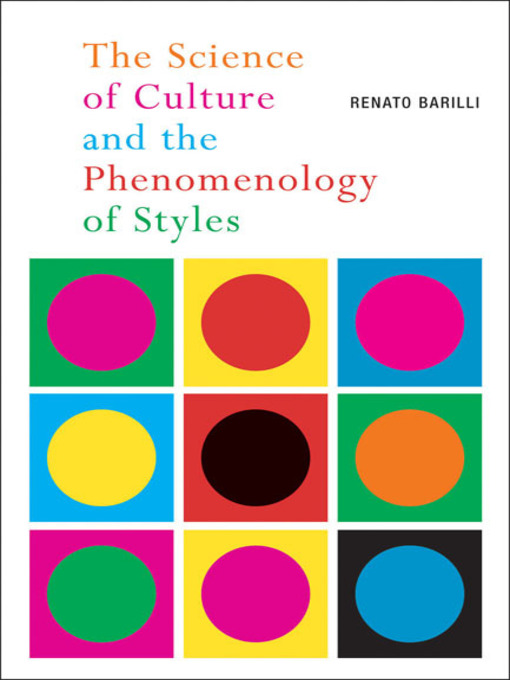 The Science of Culture and the Phenomenology of Styles (eBook)