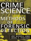 Crime Science (eBook): Methods of Forensic Detection