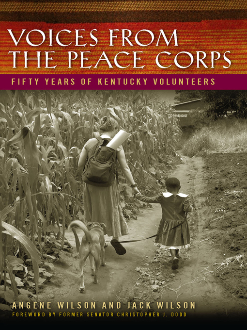 Voices from the Peace Corps (eBook): Fifty Years of Kentucky Volunteers