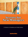 Secrets for New Managers (eBook)