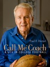Call Me Coach (eBook): A Life in College Football