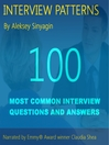 Job Interview Patterns (MP3): 100 Behavioral Interview Questions and Answers