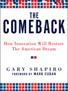 The Comeback (MP3): How Innovation Will Restore the American Dream`