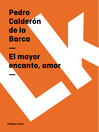El mayor encanto, amor (eBook)