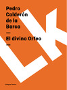 El divino Orfeo (eBook)