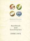 Nazarene Missions International Handbook and Constitution 2009-13 (eBook)