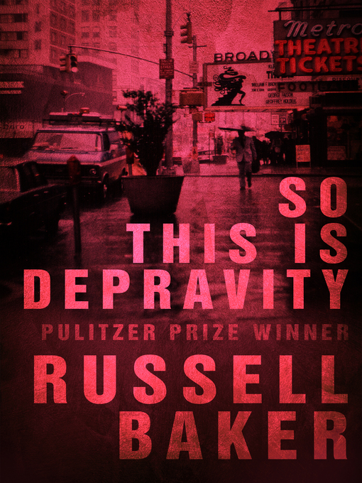 So This Is Depravity (eBook)