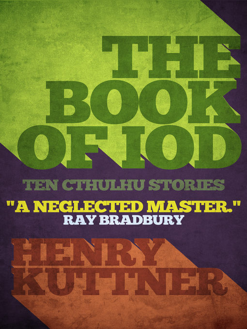 The Book of Iod (eBook): Ten Cthulhu Stories