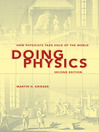 Doing Physics (eBook): How Physicists Take Hold of the World