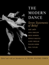 The Modern Dance (eBook): Seven Statements of Belief
