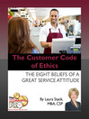 The Customer Code of Ethics (eBook): The Eight Beliefs of a Great Service Attitude