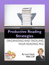 Productive Reading Strategies (eBook): Organizing and Tackling Your Reading Pile