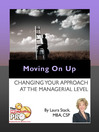 Moving on UP (eBook): Changing Your Approach at the Managerial Level
