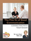 The Five Cs of Good Communication (eBook): Connecting with Your Reader