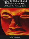 Patients' Cultural and Religious Issues (eBook): A Guide for Primary Care