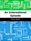 An International Episode (eBook)