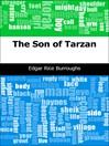 The Son of Tarzan (eBook): Tarzan Series, Book 4