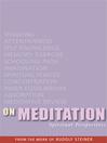 On Meditation (eBook): Spiritual Perspectives