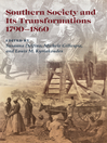 Southern Society and Its Transformations (eBook)