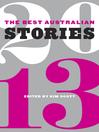 The Best Australian Stories 2013 (eBook)